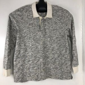 Vintage Lands End Rugby Polo Shirt